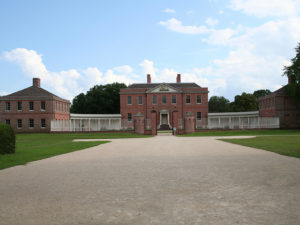 Tryon Palace front exterior