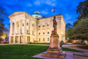Raleigh North Carolina Capitol Building