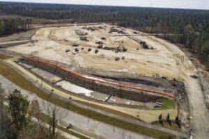West New Bern site progress March 2021-1