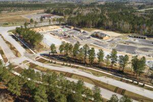 West New Bern site progress March 2021-2
