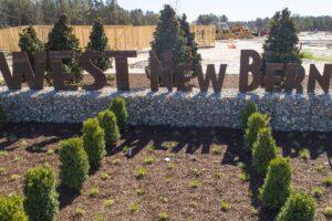 West New Bern site progress March 2021-3