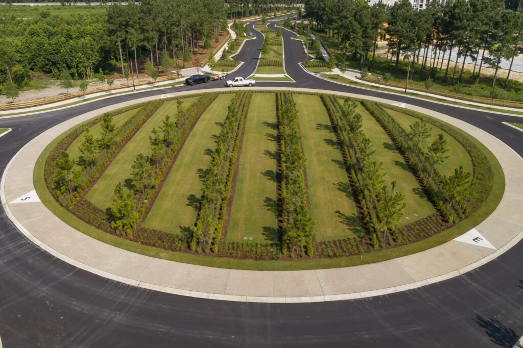 West New Bern's Compass Roundabout